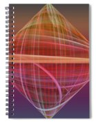 Diamond Ripple Spiral Notebook