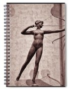 Diana - Goddess Of Hunt Spiral Notebook