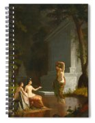 Diana At The Fountain Spiral Notebook