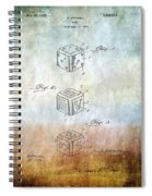 Dice Patent Spiral Notebook