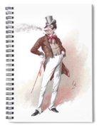 Dick Swiveller Spiral Notebook