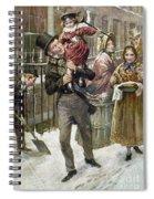 Dickens: A Christmas Carol Spiral Notebook