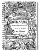 Dickens: Dombey And Son Spiral Notebook