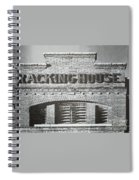 Dick's Brewery-historical Architecture  Spiral Notebook