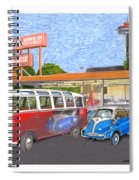 Dicks Drive In Seattle Spiral Notebook