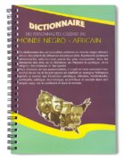 Dictionary Of Negroafrican Celebrities 2 Spiral Notebook