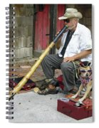 Didgeridoo Performer Spiral Notebook