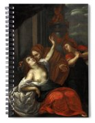 Dido Wounded Spiral Notebook