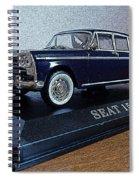 Die Cast Seat 1500 2 Spiral Notebook