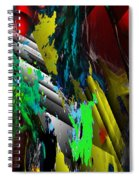 Digital Abstraction 070611 Spiral Notebook