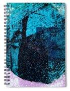 Digital Abstraction Spiral Notebook