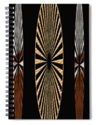 Digital Art Design Spiral Notebook