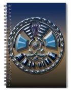 Digital Art Dial 2 Spiral Notebook