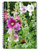 Digital Artwork 1391 Spiral Notebook