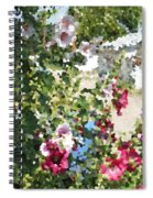 Digital Artwork 1399 Spiral Notebook