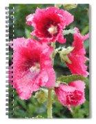 Digital Artwork 1409 Spiral Notebook