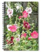 Digital Artwork 1413 Spiral Notebook