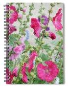 Digital Artwork 1417 Spiral Notebook