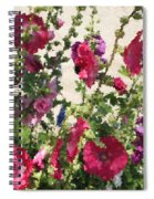Digital Artwork 1418 Spiral Notebook