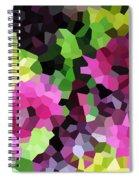 Digital Artwork 844 Spiral Notebook