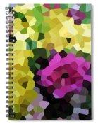 Digital Artwork 845 Spiral Notebook
