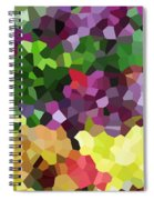 Digital Artwork 846 Spiral Notebook