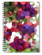 Digital Artwork 847 Spiral Notebook