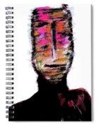 Digital Painting 082 Spiral Notebook