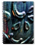 Digital Painting Abstract Blue 2364 Dp_2 Spiral Notebook