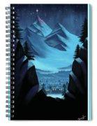 Digital Painting Spiral Notebook