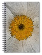 Digital Poppy Spiral Notebook