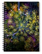 Dill Going To Seed Spiral Notebook