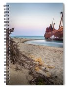 Dimitrios Shipwreck Spiral Notebook