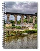 Dinan Port Brittany France Spiral Notebook