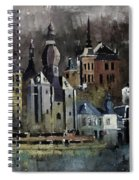 Dinant Watercolor Spiral Notebook