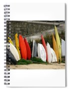 Dinghy Conga Line Spiral Notebook
