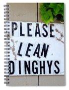 Dinghy Do's Spiral Notebook
