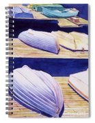 Dinghy Lines Spiral Notebook
