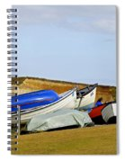 Dinghy Park At Freshwater Bay Spiral Notebook