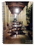 Dining At The Castle Spiral Notebook