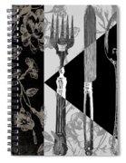 Dinner Conversation Spiral Notebook