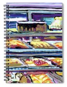 Dinner Pastry Case Spiral Notebook