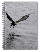 Dinner? Prince Rupert Eagle  Spiral Notebook