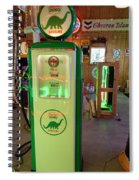 Dino Gasoline Spiral Notebook