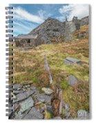 Dinorwic Quarry Ruins Spiral Notebook