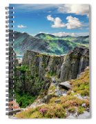 Dinorwic Slate Quarry Snowdon Spiral Notebook