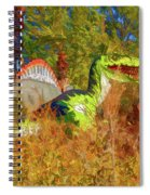 Dinosaur 9 Spiral Notebook