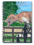 Dinosaur Country Spiral Notebook