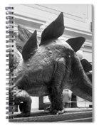 Dinosaur Exhibit, 1917 Spiral Notebook
