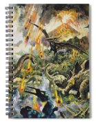 Dinosaurs And Volcanoes Spiral Notebook